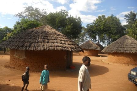 Discipleship Center huts